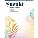 Suzuki Violin School - Violin Part, Volume 3